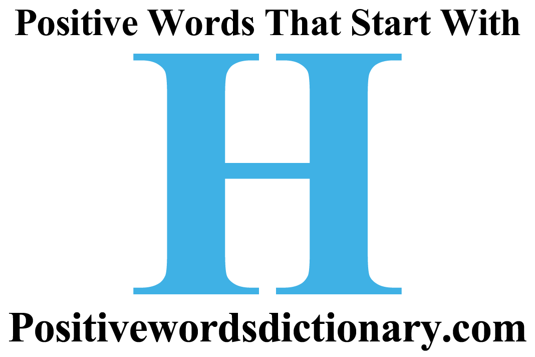 start Positive o adjective words that with