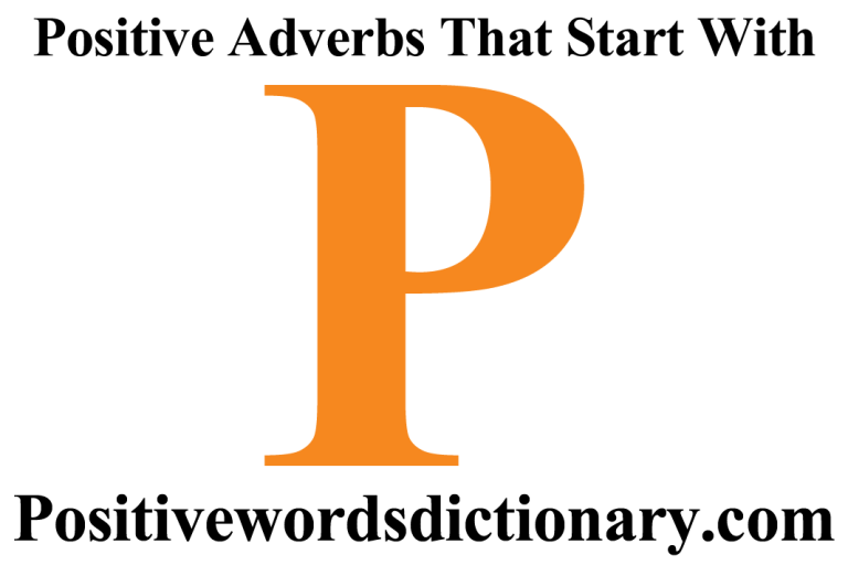 Positive adverbs that start with p