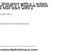 Action words that start with a | action verbs that start with a ...